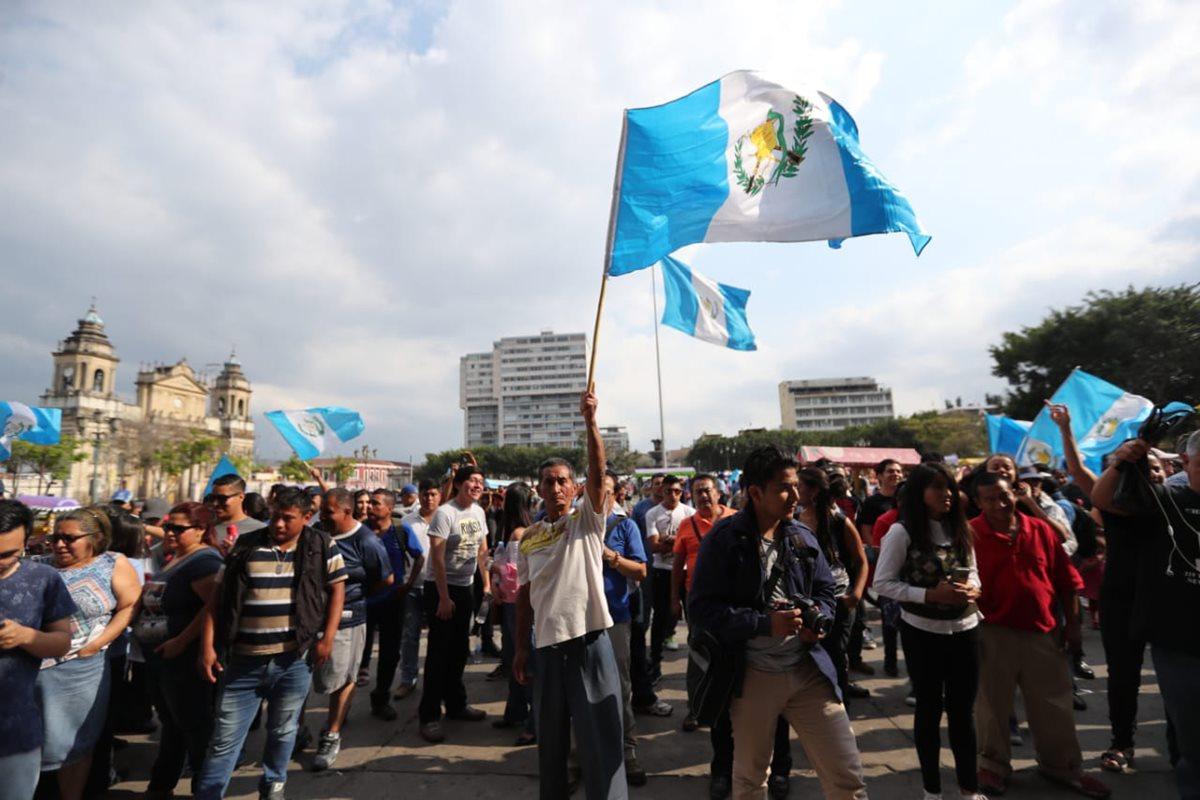 La cancelación de FCN como partido político, fue una de las principales demandas durante la protesta
