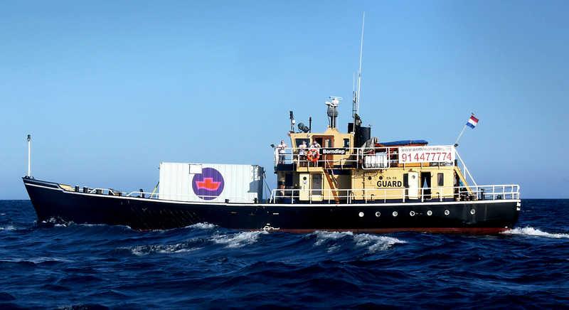 El barco de Women on Waves en el que se practican abortos ha sido vetado en México y Colombia. (Foto Prensa Libre: Women on Waves)