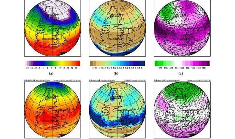 Estudiar el clima de la serie les permitió a los investigadores poner a prueba modelos climáticos que permiten estimar cómo se comportará el clima de la Tierra. Foto: Universidad de Bristol.