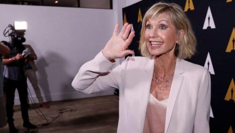 La célebre actriz de Grease se volvió una activista contra el cáncer después de su primer diagnóstico en 1992. (Reuters).