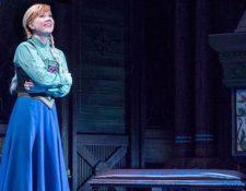"""La actriz Patti Murin, que interpreta a Anna en el musical de """"Frozen"""" en Broadway, publicó en sus redes sociales la causa por la que no pudo participar en una de las representaciones esta semana. DEEN VAN MEER"""