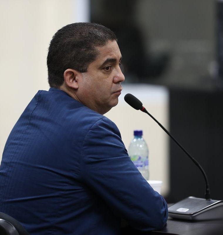 Juan Carlos Monzón continúa declarando ante el juez. (Foto Prensa Libre: Hemeroteca PL).