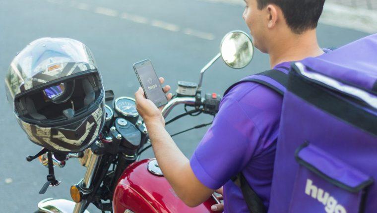 La aplicación Hugo abarca la entrega de servicios de comida, bebidas, tiendas de conveniencia y productos. (Foto Prensa Libre: Cortesía Hugo)