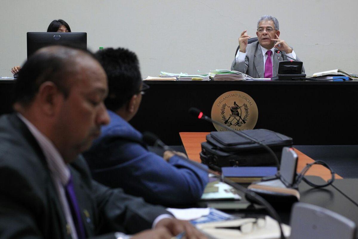 Juzgados de Mayor Riesgo trabajan durante asueto