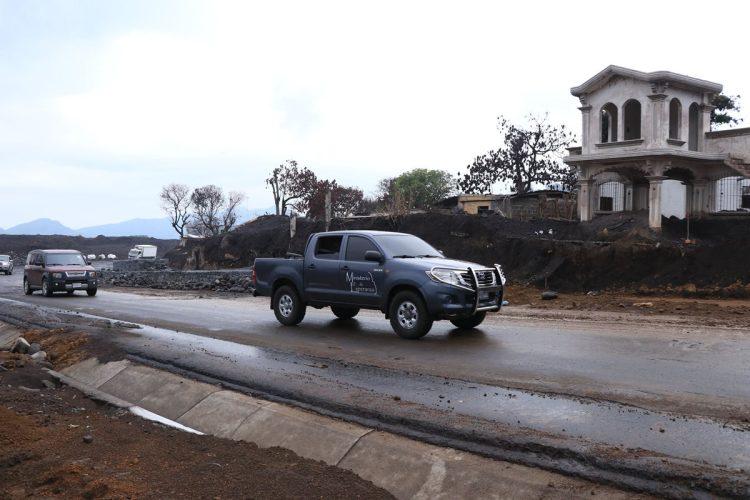 El tramo carretero estará resguardado por agentes de la Policía Nacional Civil, el Ejército y agentes de Provial.