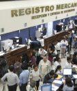 El Registro Mercantil, en la capital, se ubica en la zona 4. (Foto, Prensa Libre: Hemeroteca PL)