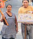 Elaborar golosinas es un legado familiar. (Foto Prensa Libre: Álvaro Interiano)