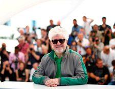 Pedro Almodóvar, de 66 años, es actualmente uno de los cineastas más destacados de España. (Foto Prensa Libre: EFE)