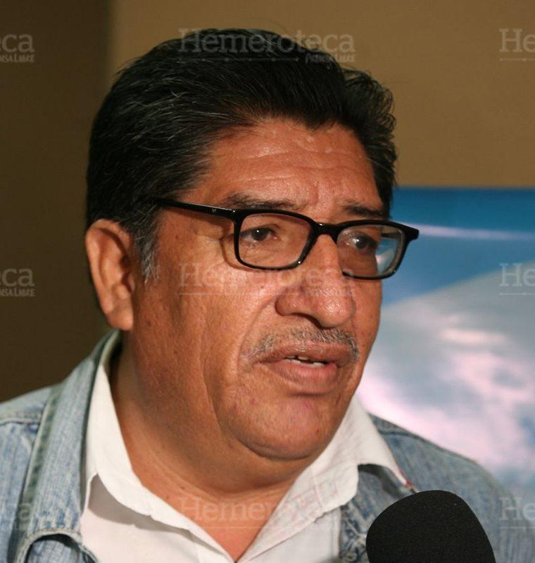 Luis Lara, dirigente de la Unidad de Acción Sindical y Popular, UASP. (Foto: Hemeroteca PL)