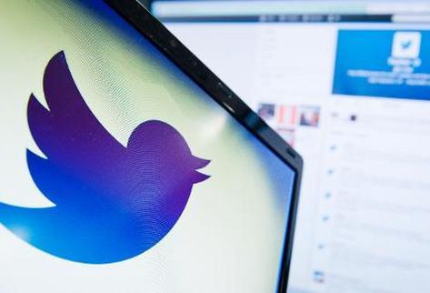 El logo de Twitter. (Foto Prensa Libre: AFP).
