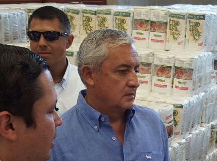 El gobernante supervisó los programas de entrega de alimentos en el Corredor Seco.