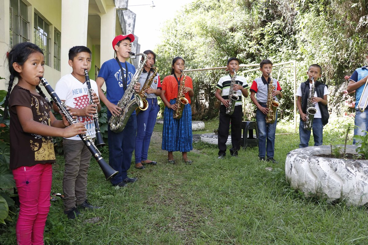 Chaipec, la comunidad q'eqchi' que se mueve al ritmo de una sinfónica