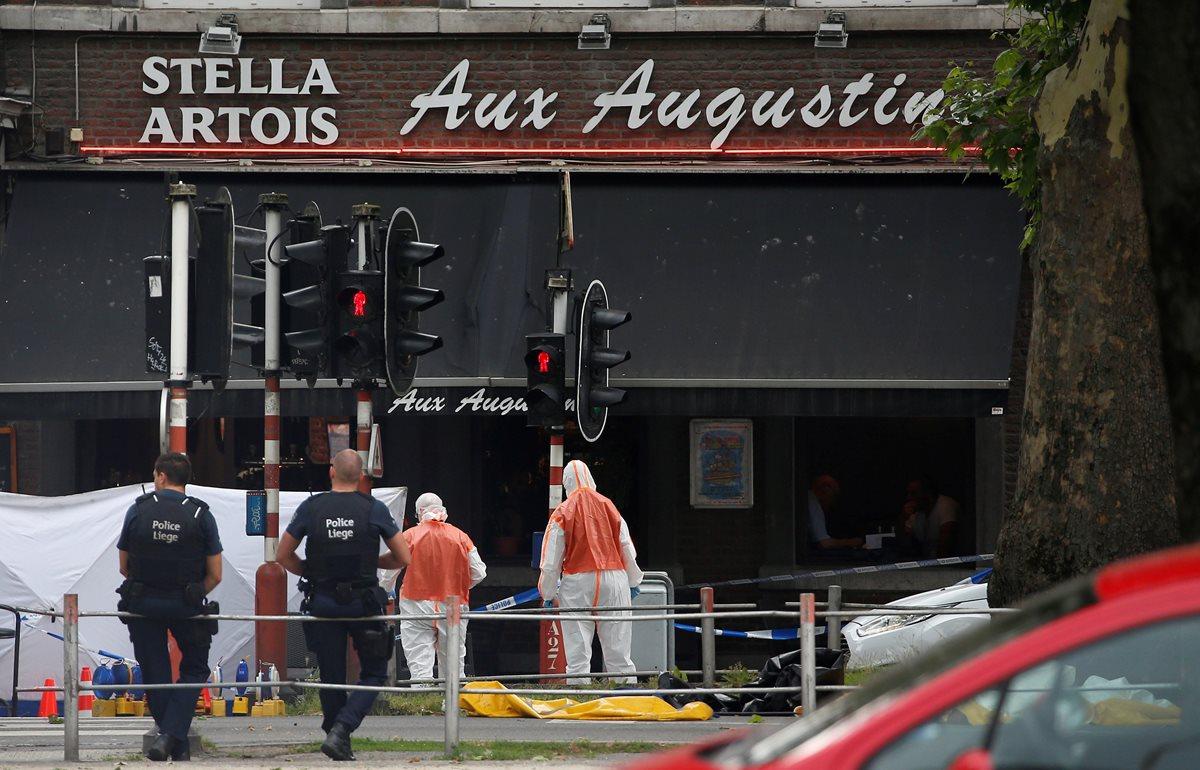 Abatido presunto terrorista luego de matar a dos policías y a un civil en Lieja, Bélgica