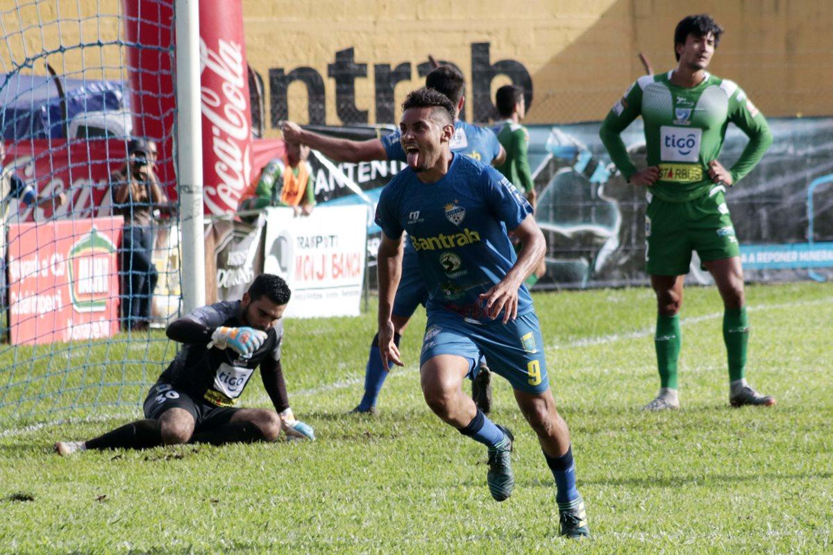 Cobán remonta en los últimos tres minutos y gana a Suchitepéquez