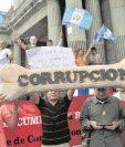La lucha contra la corrupción e impunidad, por parte del Gobierno de Guatemala, es una de las condicionantes que tiene EE.UU. para brindar ayuda al país. (Foto HemerotecaPL)