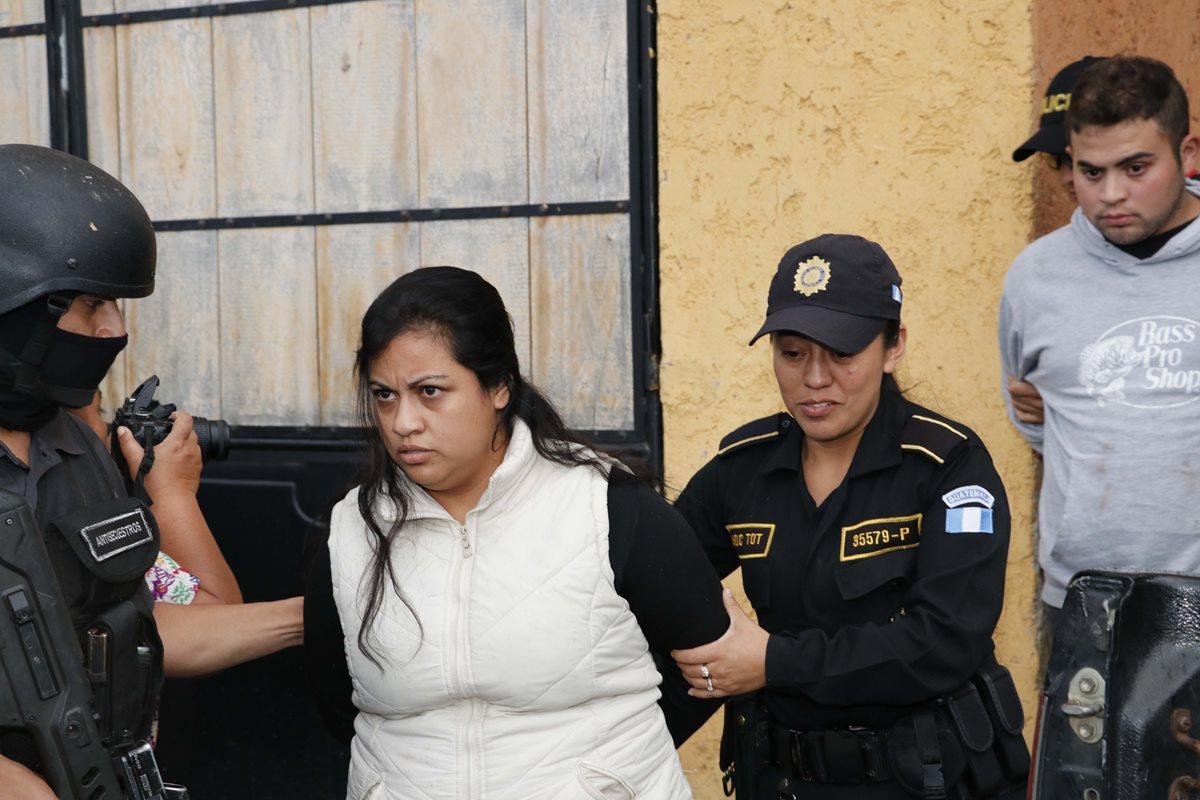 Nineth Álvarez Milián habría cuidado a las gemelas durante el tiempo que estuvieron secuestradas. (Foto Prensa Libre: Eduardo Sam)