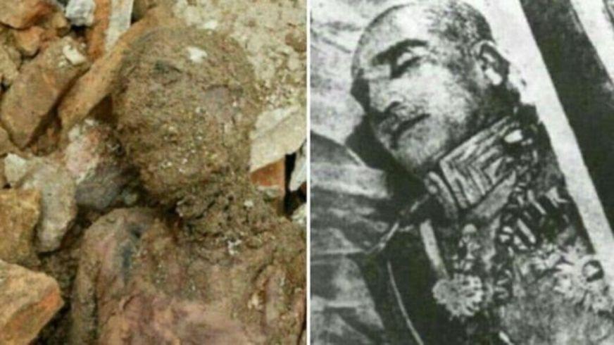 El sorprendente hallazgo de una momia que aseguran pertenece a Reza Sha Pahlevi, el fundador de la última dinastía que reinó en Irán