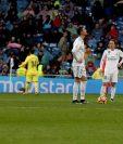 La falta de gol Cristiano Ronaldo en La Liga, agranda la crisis del Real Madrid. (Foto Prensa Libre: EFE)