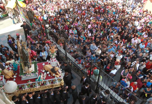 La <em>Guadalupana</em> cumple 125 años de salir a las calles