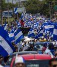 Las protestas contra el Gobierno de Nicaragua iniciaron el pasado 18 de abril. (Foto Prensa Libre: EFE)