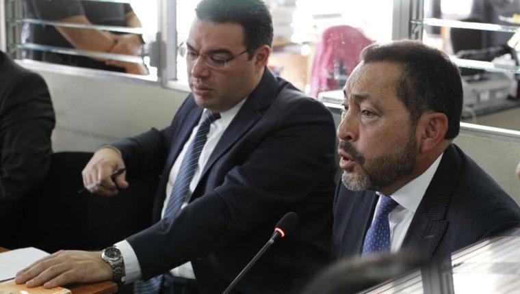 El exministro de Gobernación suma su segundo proceso penal. (foto Prensa Libre: Paulo Raquec)