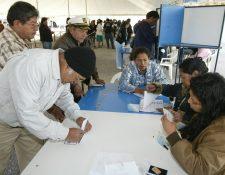 El TSE informó que más de 8 millones de personas podrán votar el próximo 16 de junio. (Foto Prensa Libre: Hemeroteca PL)