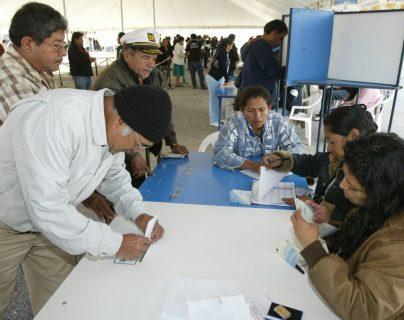 Más de 8.1 millones de personas podrán votar el 16 de junio. (Foto Prensa Libre: Hemeroteca PL)