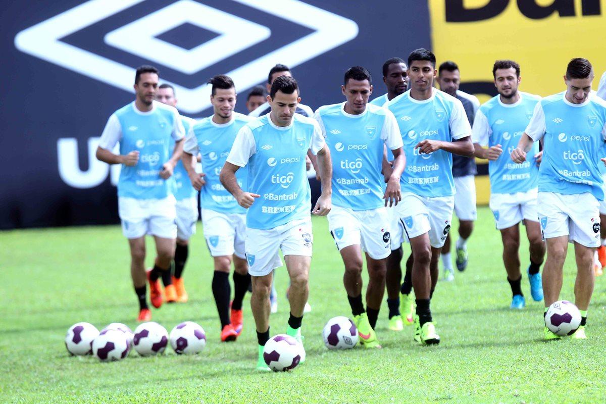 Bicolor realiza última práctica antes de enfrentar a Trinidad y Tobago