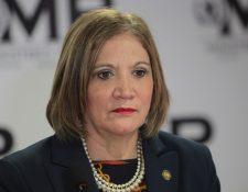María Eugenia Villagrán dijo que la PGN no está obstaculizando el caso. (Foto Prensa Libre: Hemeroteca PL)
