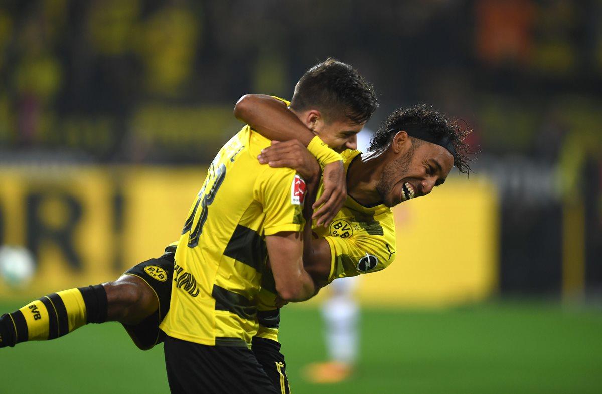 Aubameyang y el Dortmund se reportan listos para el Real Madrid