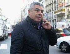 Chiqui Tapia insultó, supuestamente, a Edgardo Bauza. (Foto Prensa Libre: Twitter)