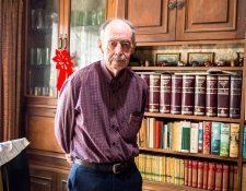 Andinista, historiador, escritor y empresario Carlos Enrique Prahl Redondo. Foto Prensa Libre: Roberto Villalobos Viato.
