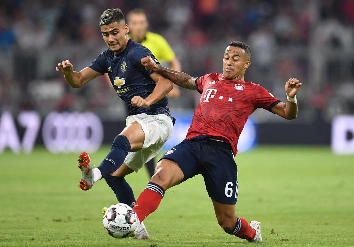 Bayern Múnich derrota a Mánchester United en último partido de pretemporada