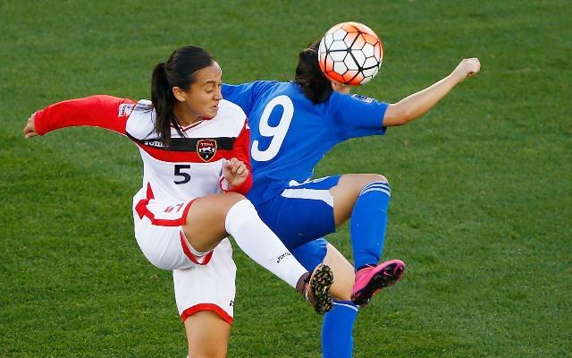 La Selección de Guatemala deja escapar el triunfo contra Trinidad en el Preolímpico. (Foto Prensa Libre: AFP)