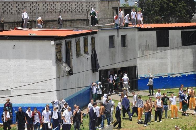 En julio pasado se registró un motín en la misma correccional en el que murieron tres personas. (Foto Prensa Libre: Hemeroteca PL)