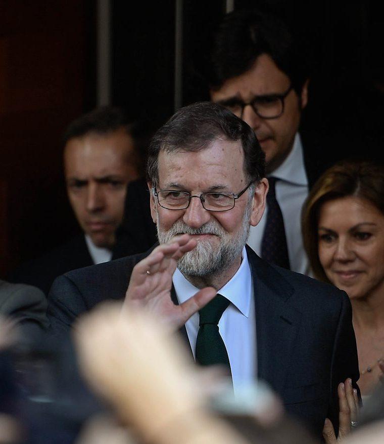 Mariano Rajoy fue el gran superviviente de la política española, gracias a su temple y su habilísimo manejo de los tiempos. (Foto Prensa Libre: AFP)