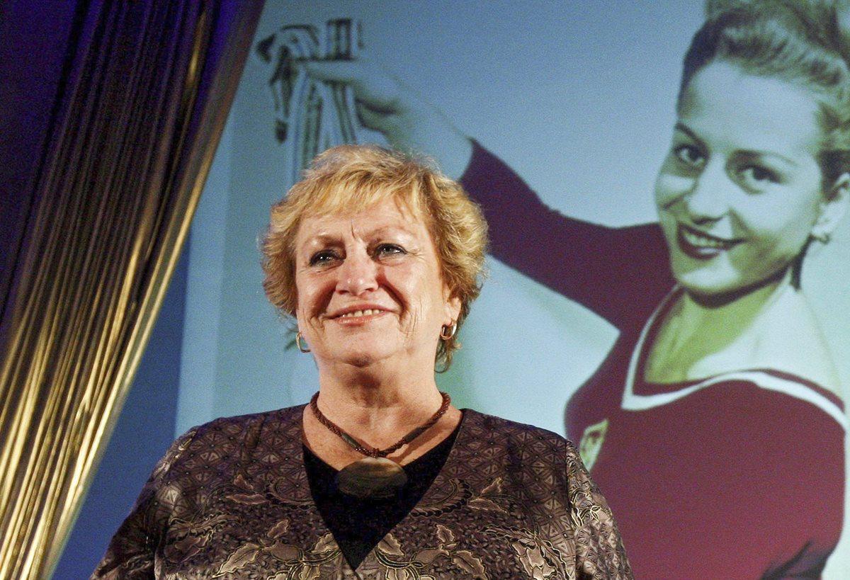 Fallece a los 74 años la mítica gimnasta Vera Caslavska