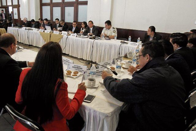 La Comisión de Finanzas del Congreso analiza el proyecto de presupuesto para el 2018.