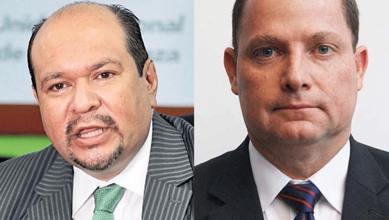 La Corte Suprema de Justicia retiró la inmunidad a los diputados Orlando Blanco de la UNE y Claude De León de FCN-Nación. (Foto Prensa Libre: Hemeroteca)