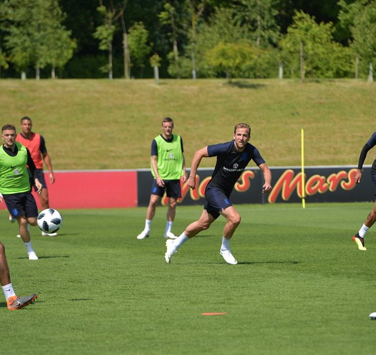 Kane fue nombrado capitán de la selección inglesa.  (Foto Prensa Libre: AFP)