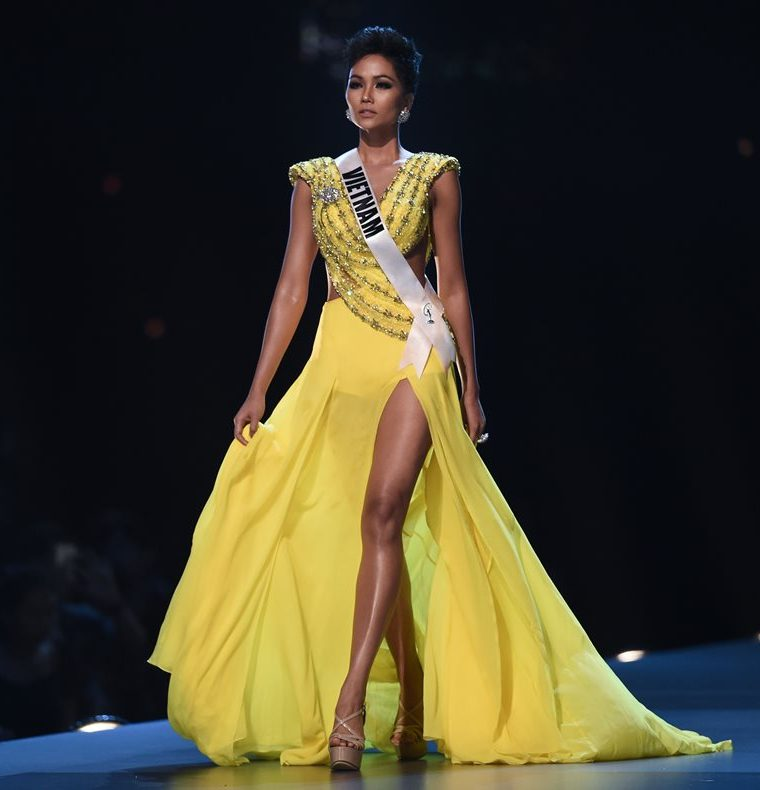 Miss Vietnam está entre las 20 finalistas a Miss Universo 2018.