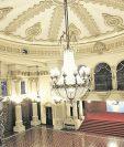 El Salón Banderas donde se realizaron las reparaciones. (Foto Prensa Libre: Hemeroteca PL).