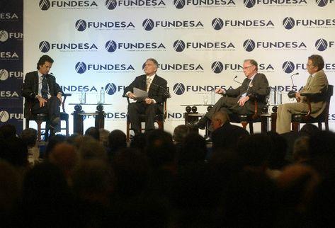 Gutiérrez grabó el  programa Libre Encuentro durante el Encuentro Nacional de Empresarios 2010. (Archivo)