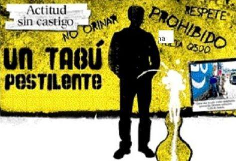 Ilustración tema  Mal hábido: calles sirven de letrinas . (Ilustración Prensa Libre)