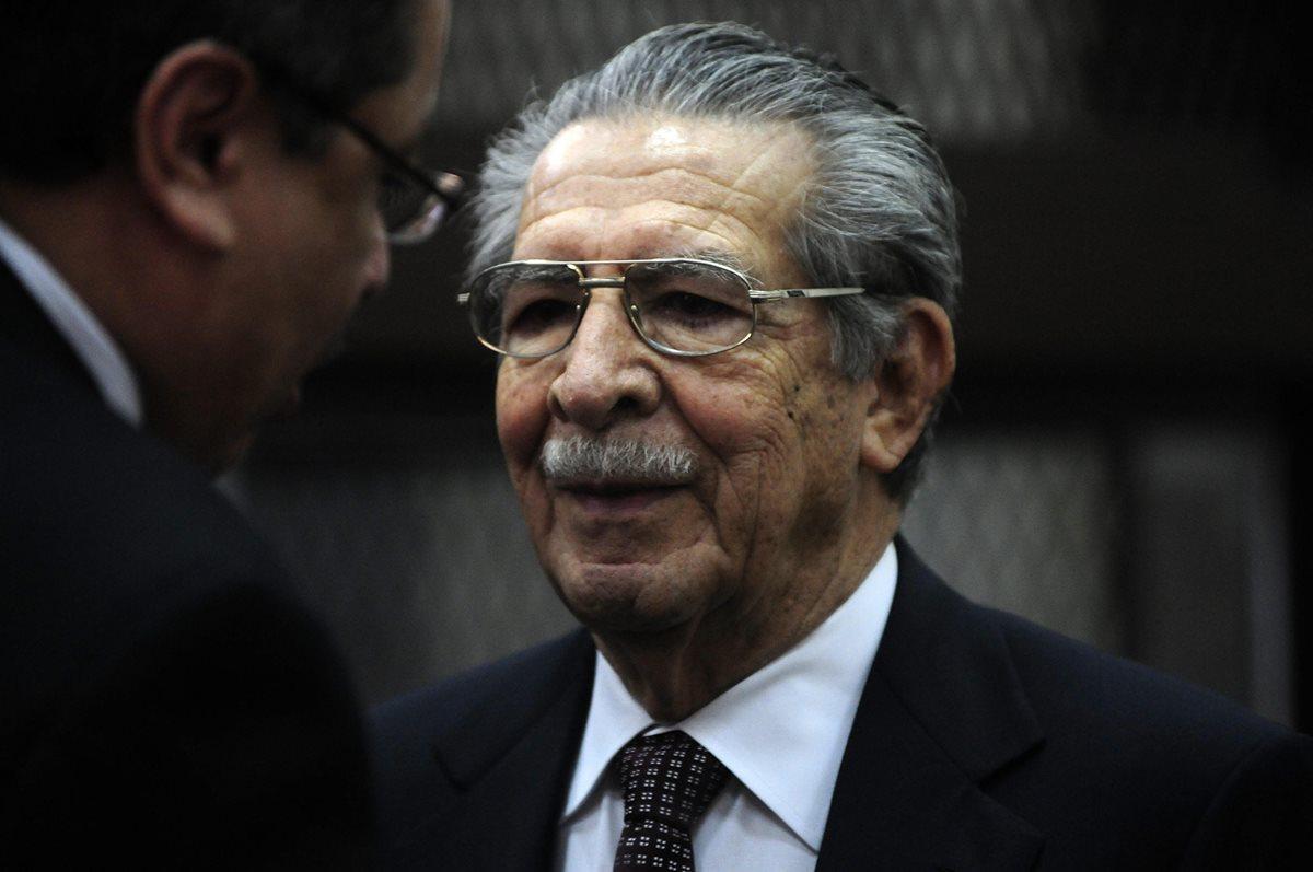 Ríos Montt es declarado incapaz de enfrentar juicio