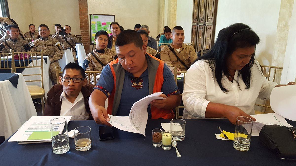 Sociedad civil participa en taller de acceso a la información pública