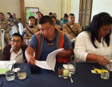 Informan en Sacatepéquez del beneficios de utilizar la Ley de Libre Acceso a la Información Pública. (Foto Prensa Libre: Julio Sicán)