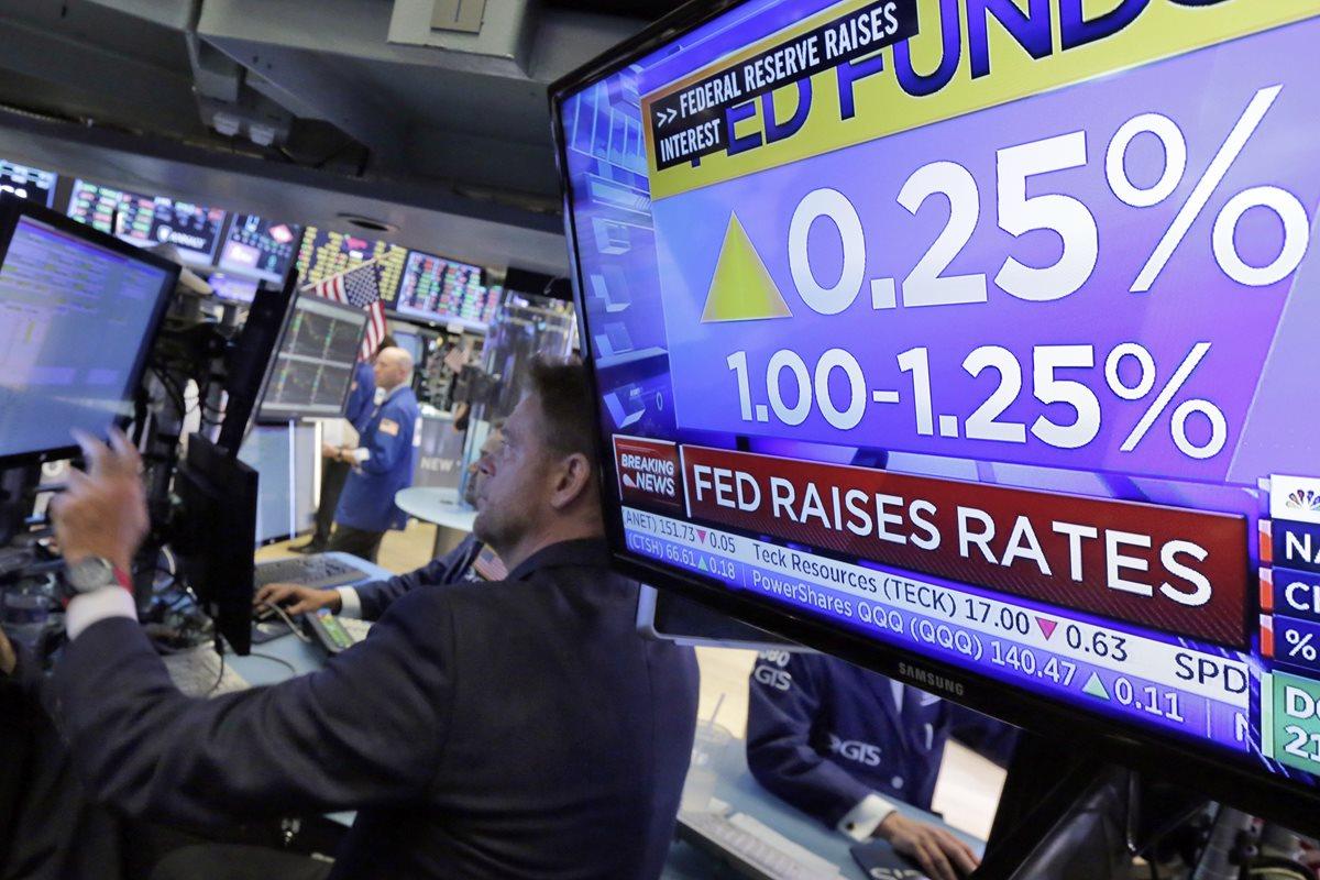 FED aumenta su tasa de interés en 0.25 puntos