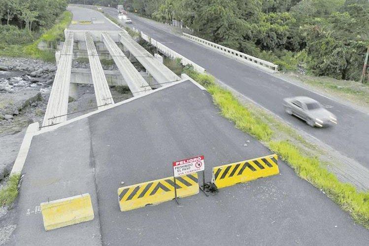 Odebrecht dejó inconcluso un tramo de 97 kilómetros de la carretera CA 2 Occidente. (Foto Prensa Libre: Hemeroteca PL)