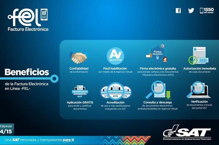Conozca el proceso para el emisión de facturas electrónicas en línea según explicaciones de la SAT. (Foto, Prensa Libre: Hemeroteca PL).